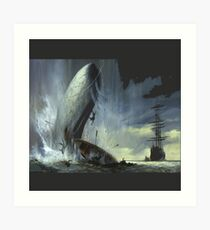 The monsters from in the heart of the sea movie Art Print