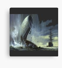 The monsters from in the heart of the sea movie Canvas Print