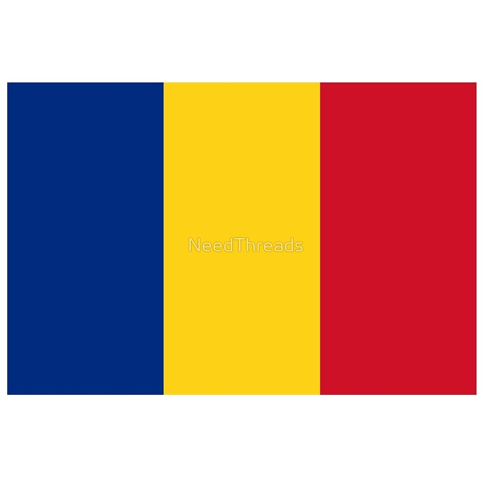 Romania Flag by NeedThreads