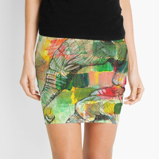 Friendly Observer Mini Skirt