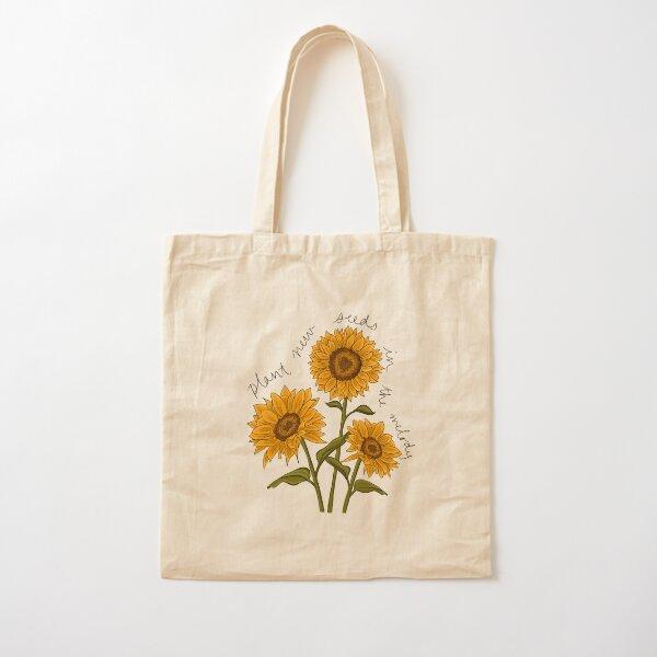 Harry Styles Sunflower Vol. 6 Lyric Art Cotton Tote Bag