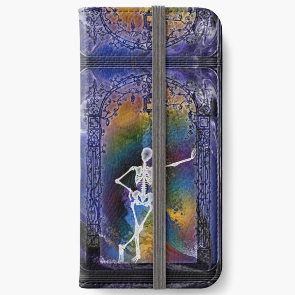 Gateway: Halloween Skeleton iPhone Wallet