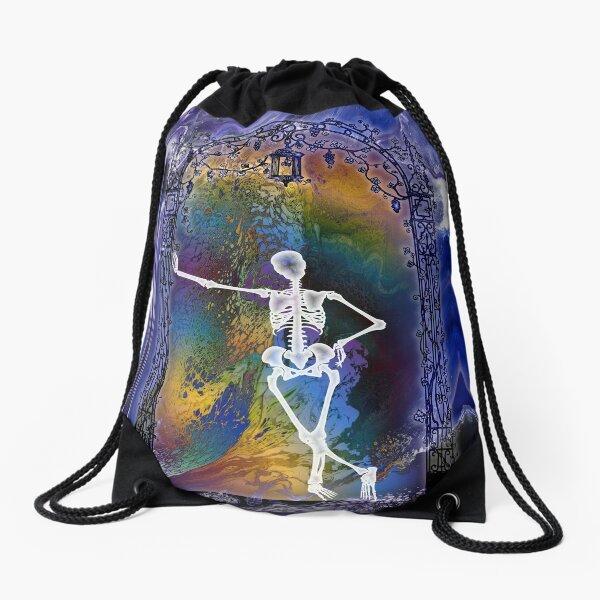 Gateway: Halloween Skeleton Drawstring Bag