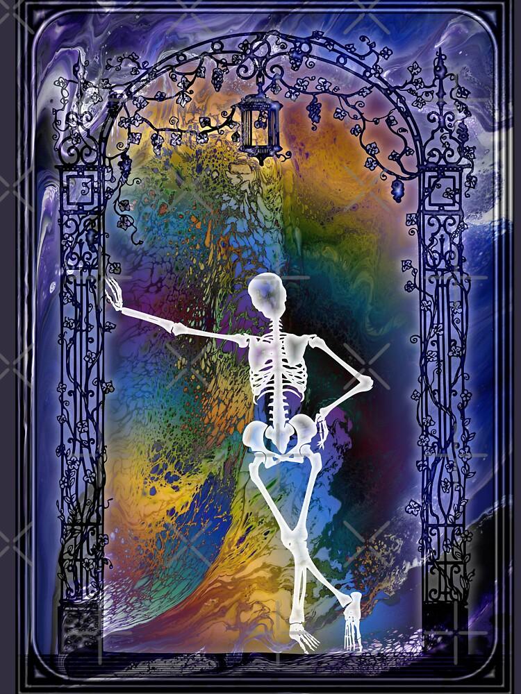 Gateway: Halloween Skeleton by kerravonsen