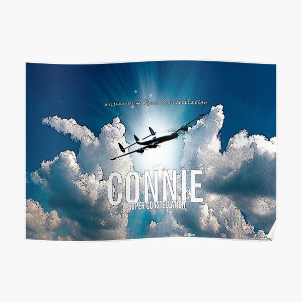 Connie Super Constellation Poster
