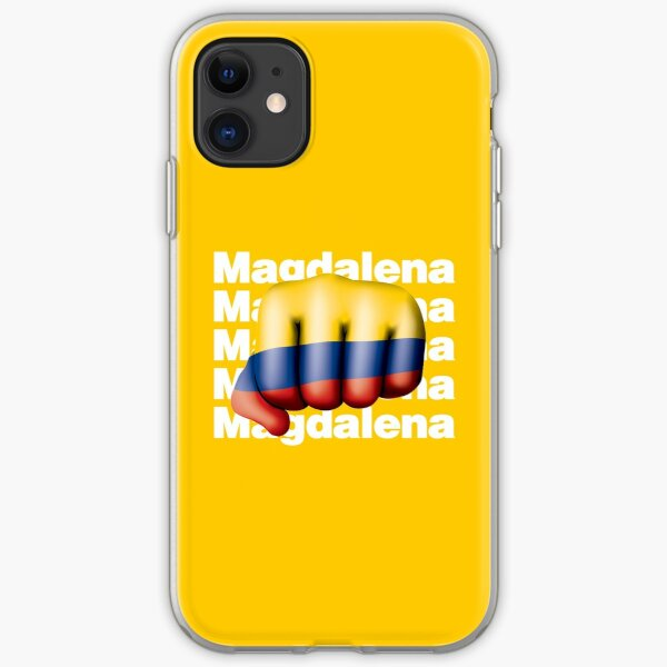 Magdalena Strong Colombian Hometown  iPhone Soft Case