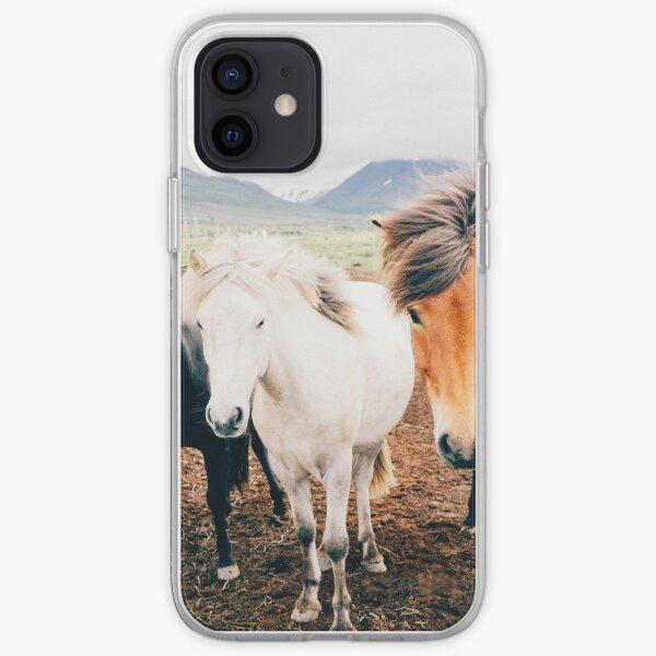 Fergus The Horse iPhone Soft Case