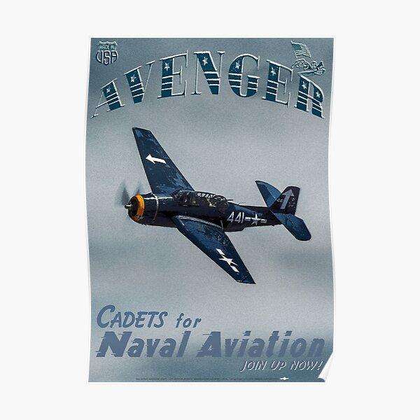 TBM Grumman Avenger Poster Poster