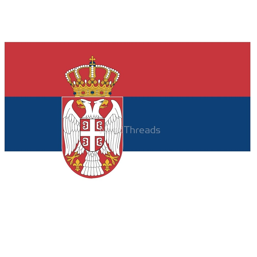 Serbia Flag by NeedThreads