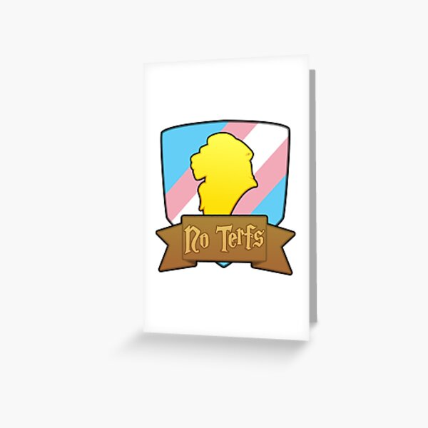 House Lion - No Terfs Greeting Card