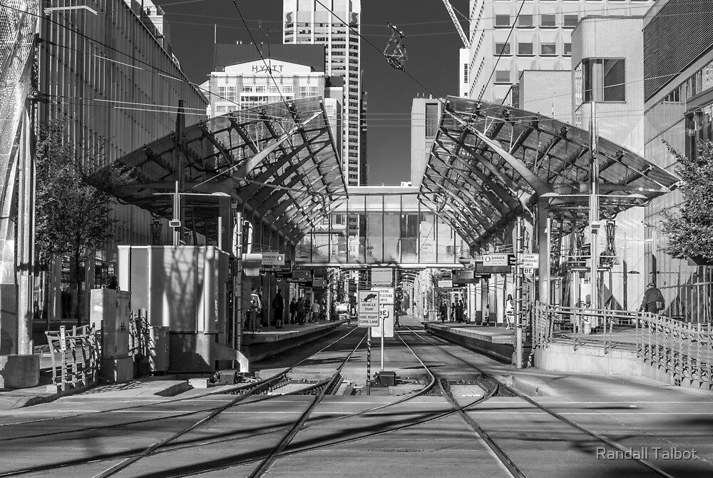 Entering Downtown Calgary by Randall Talbot