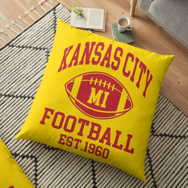 Kansas City Football Supporters Floor Pillow