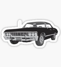 1967 Chevy Impala Sticker