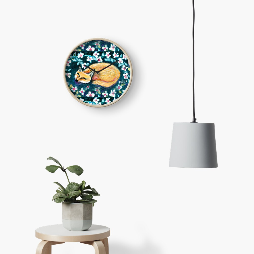 Fox Nap Clock