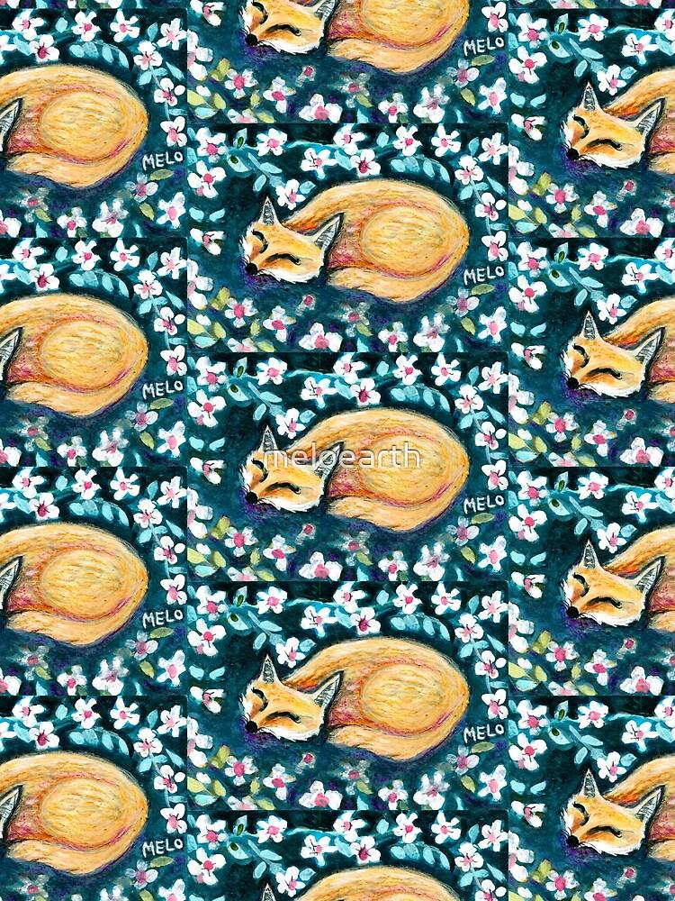 Fox Nap by meloearth