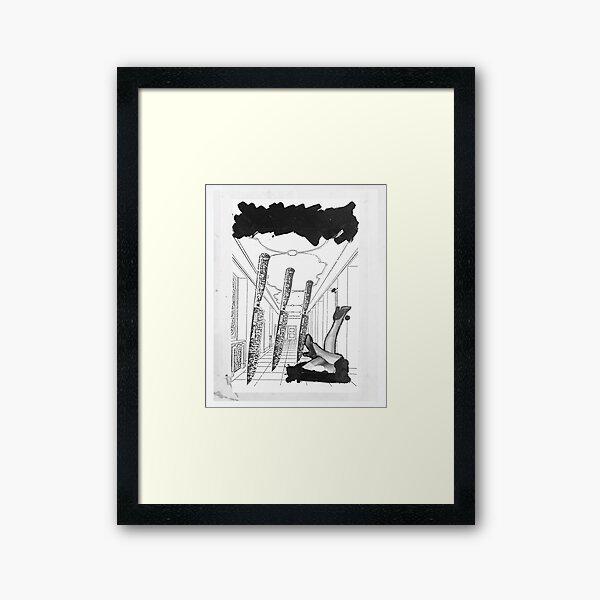 knives and legs Framed Art Print