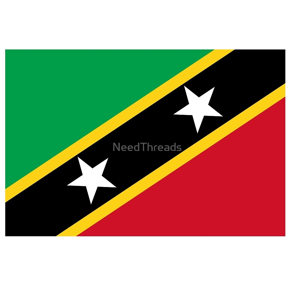St. Kitts And Nevis Flag by NeedThreads