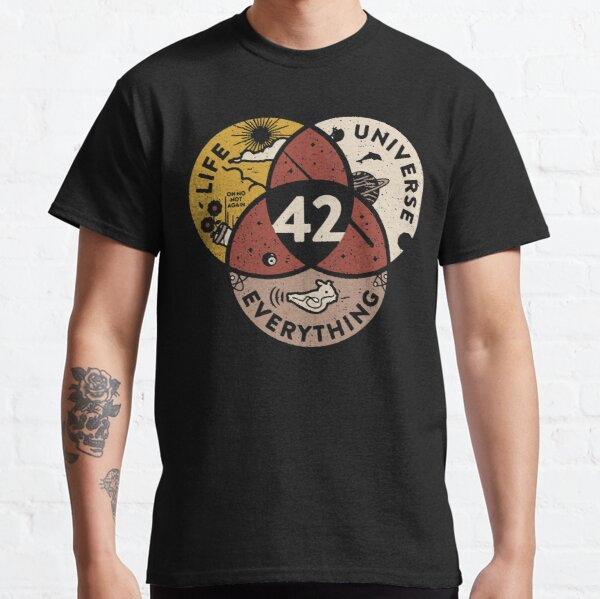42-Life-Universe-everything Classic T-Shirt