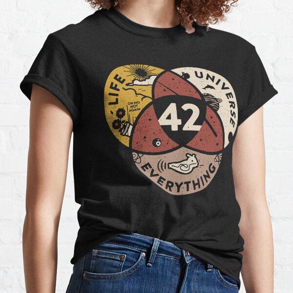 42-Lebensuniversum-alles Classic T-Shirt