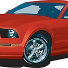 2005 Ford Mustang by EmmaEsme