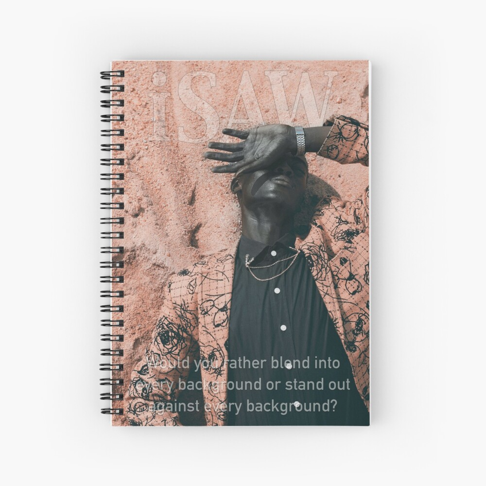 Blend In or Stand Out Spiral Notebook