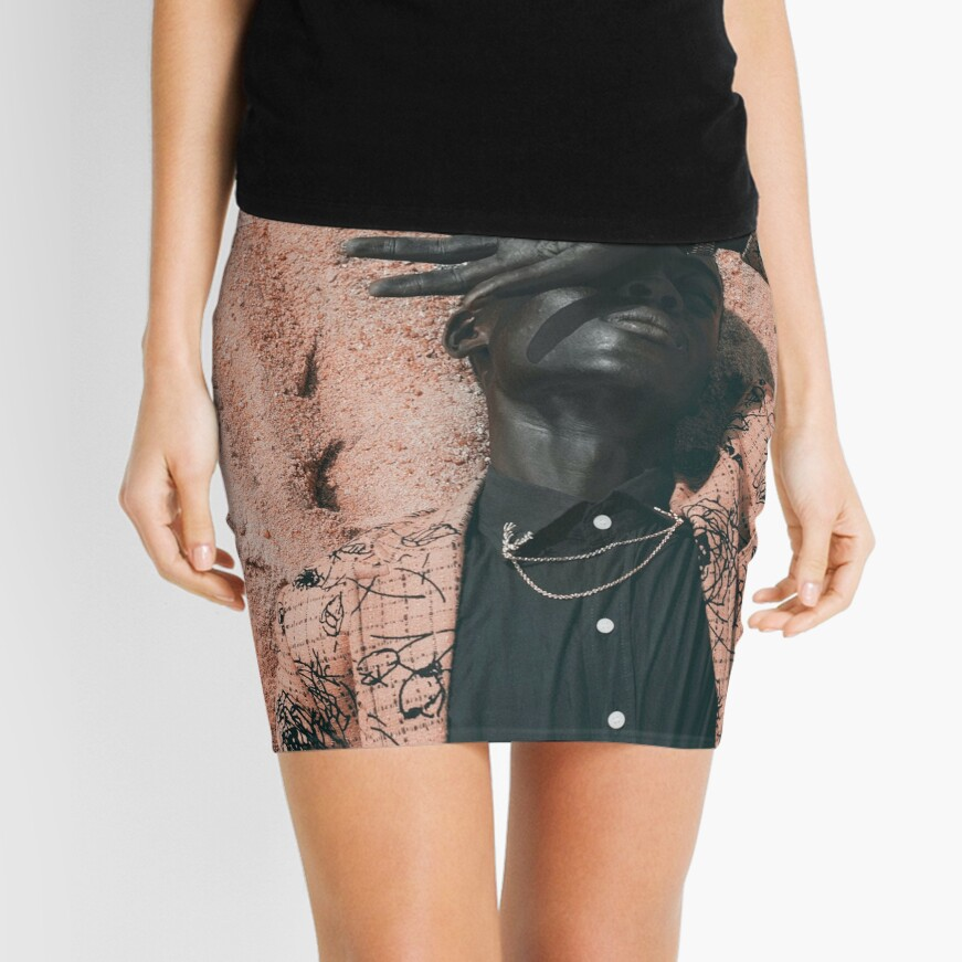 Blend In or Stand Out Mini Skirt