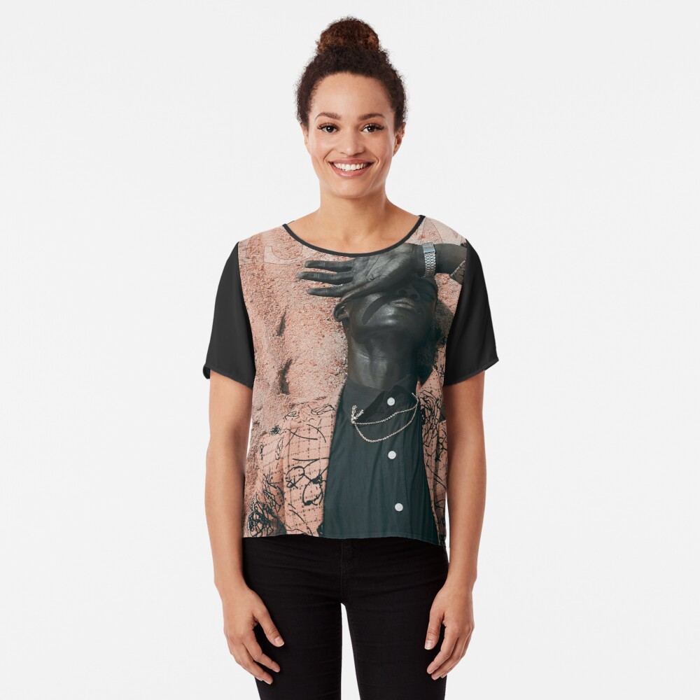 Blend In or Stand Out Chiffon Top