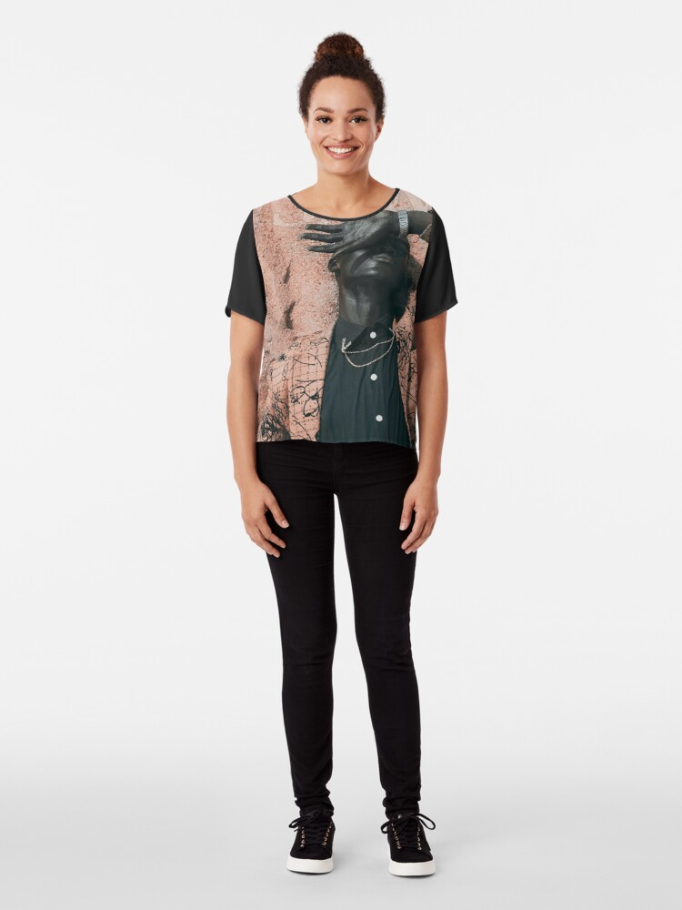 Alternate view of Blend In or Stand Out Chiffon Top