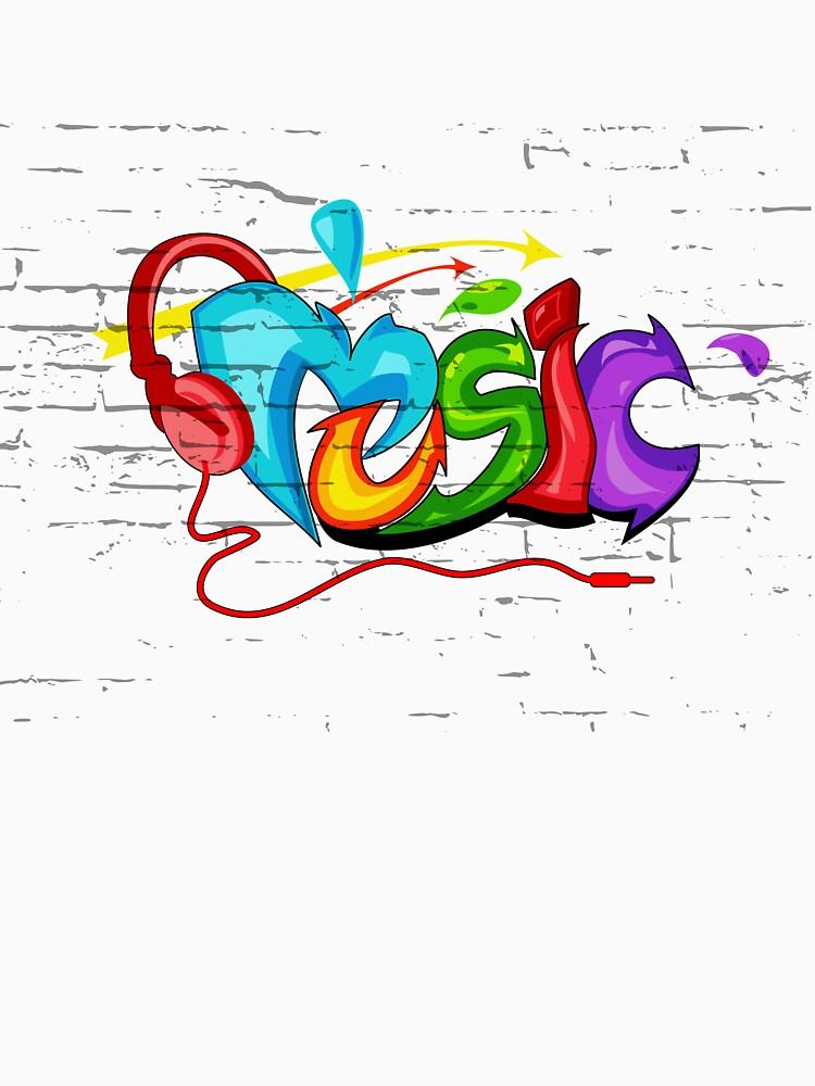 Music Graffiti by mdikici