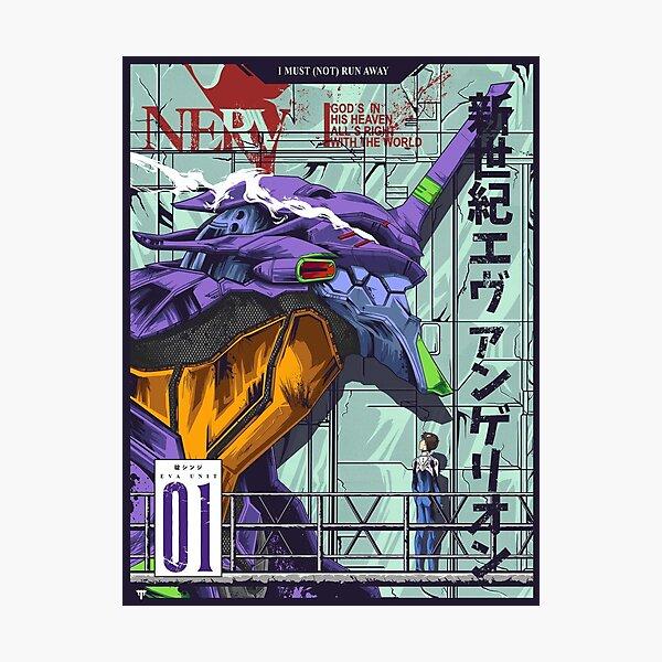 Neon Genesis Evangelion (Evangelion Unit-01) Photographic Print