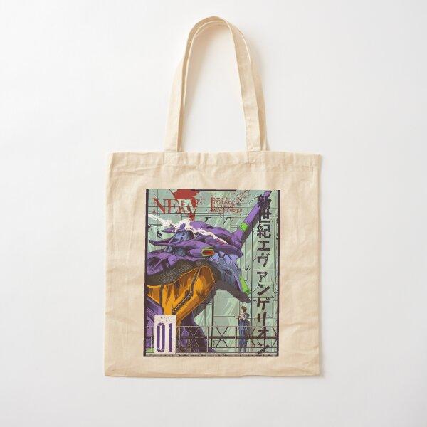 Neon Genesis Evangelion (Evangelion Unit-01) Cotton Tote Bag