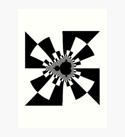 Mandelbrot XV - White Art Print