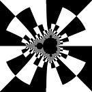 Mandelbrot XV - White by Rupert Russell