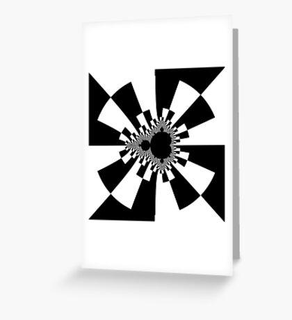 Mandelbrot XV - White Greeting Card