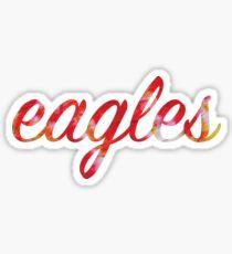 Eagles - Tie Die Sticker