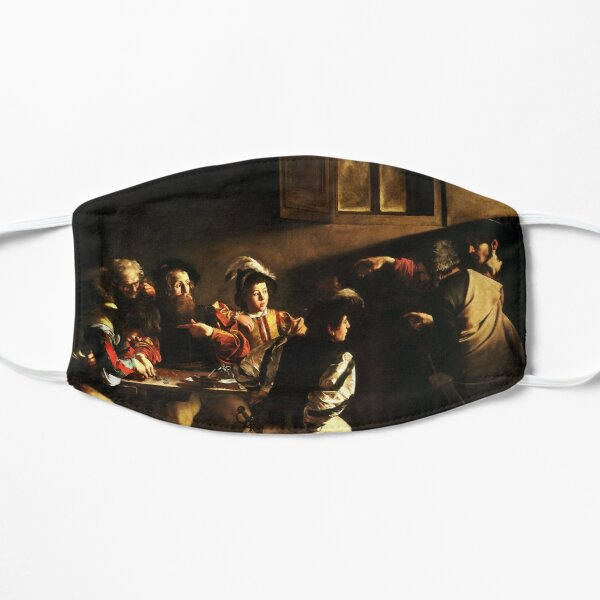 The Calling of Saint Matthew, masterpiece, Michelangelo Merisi da Caravaggio, #People, #group, #adult, #art, music, indoors, furniture, painting, flame, men, home interior, light, natural phenomenon Mask