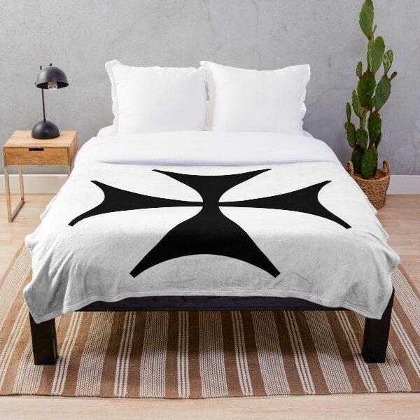 Bolnisi cross, Maltese cross Throw Blanket