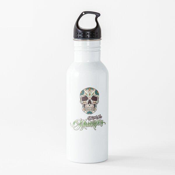 Calavera de los Día de los muertos Botella de agua