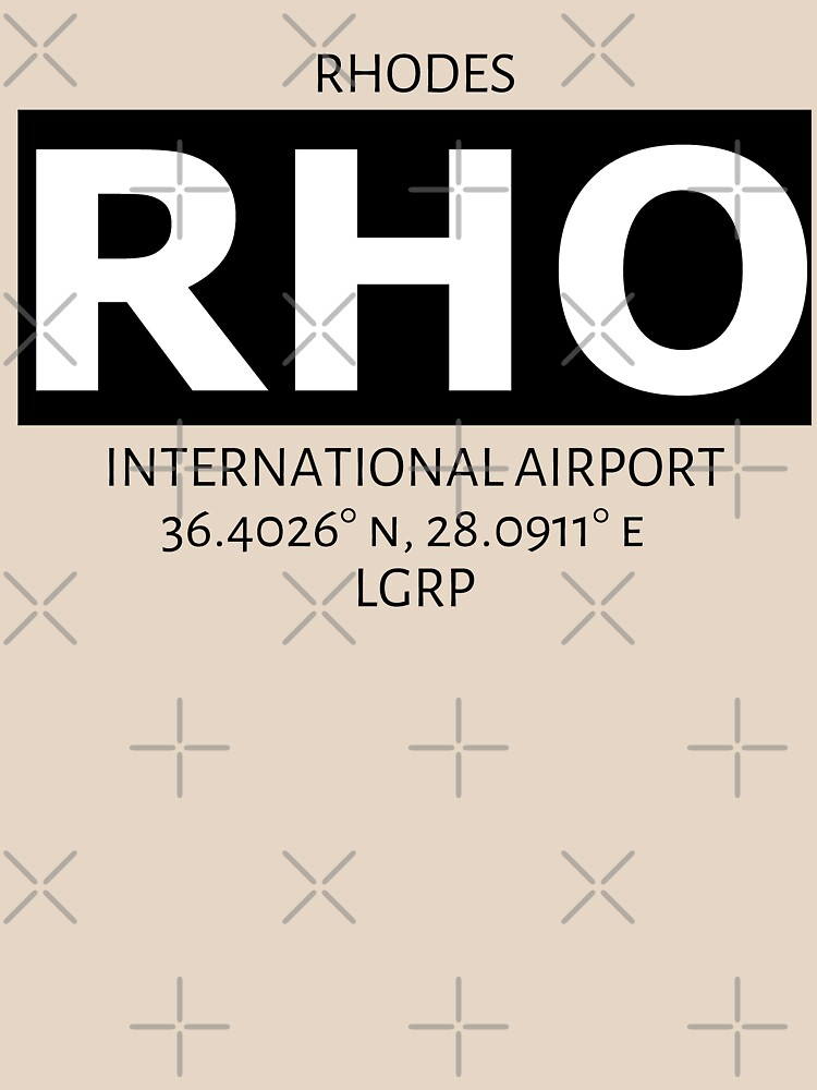 Rhodes International Airport KGS by AvGeekCentral