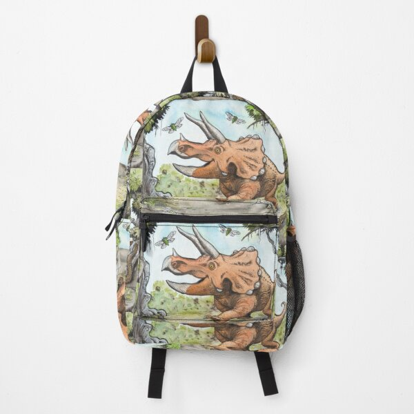 Happy Triceratops Backpack