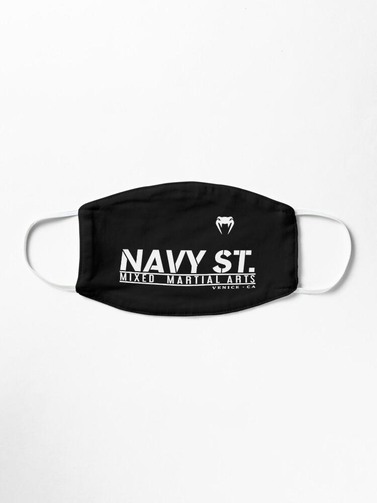 Alternate view of MMA SHOW NAVY ST (White) Mask