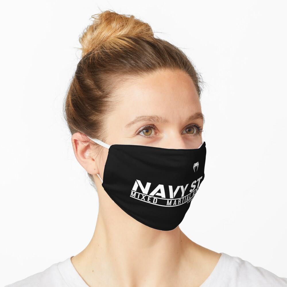 MMA SHOW NAVY ST (White) Mask