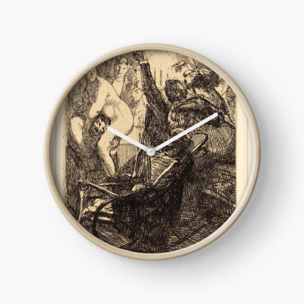 Albert Besnard The Orgy Lorgie French Litz Collection, The Orgy (L'orgie), 1900 Clock