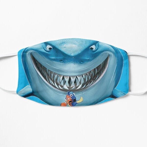 ANGEL SHARK,BASKING SHARK,BLACKTIP SHARK,BLUE SHARK,BULL SHARK,GOBLIN SHARK,GREAT WHITE SHARK,MAKO SHARK,SANDTIGER SHARK,TIGER SHARK,WHALE SHARK,WHITE TIP REEF SHARK,ZEBRA SHARK,WOBBEGONG SHARK Flat Mask