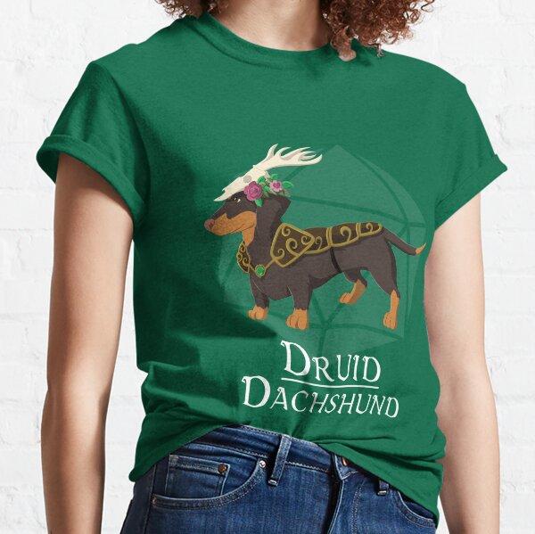 Druid Dachshund Classic T-Shirt