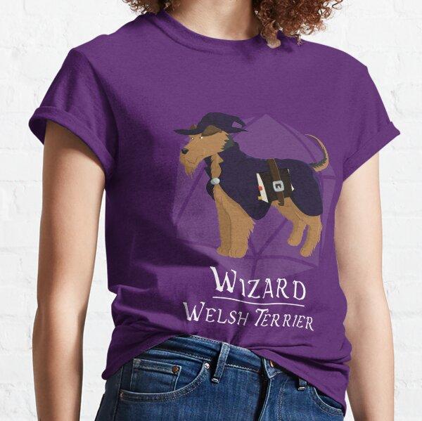 Wizard Welsh Terrier Classic T-Shirt
