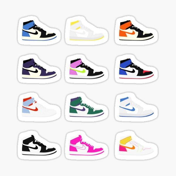 Air Jordan's Sticker Set 1 Sticker