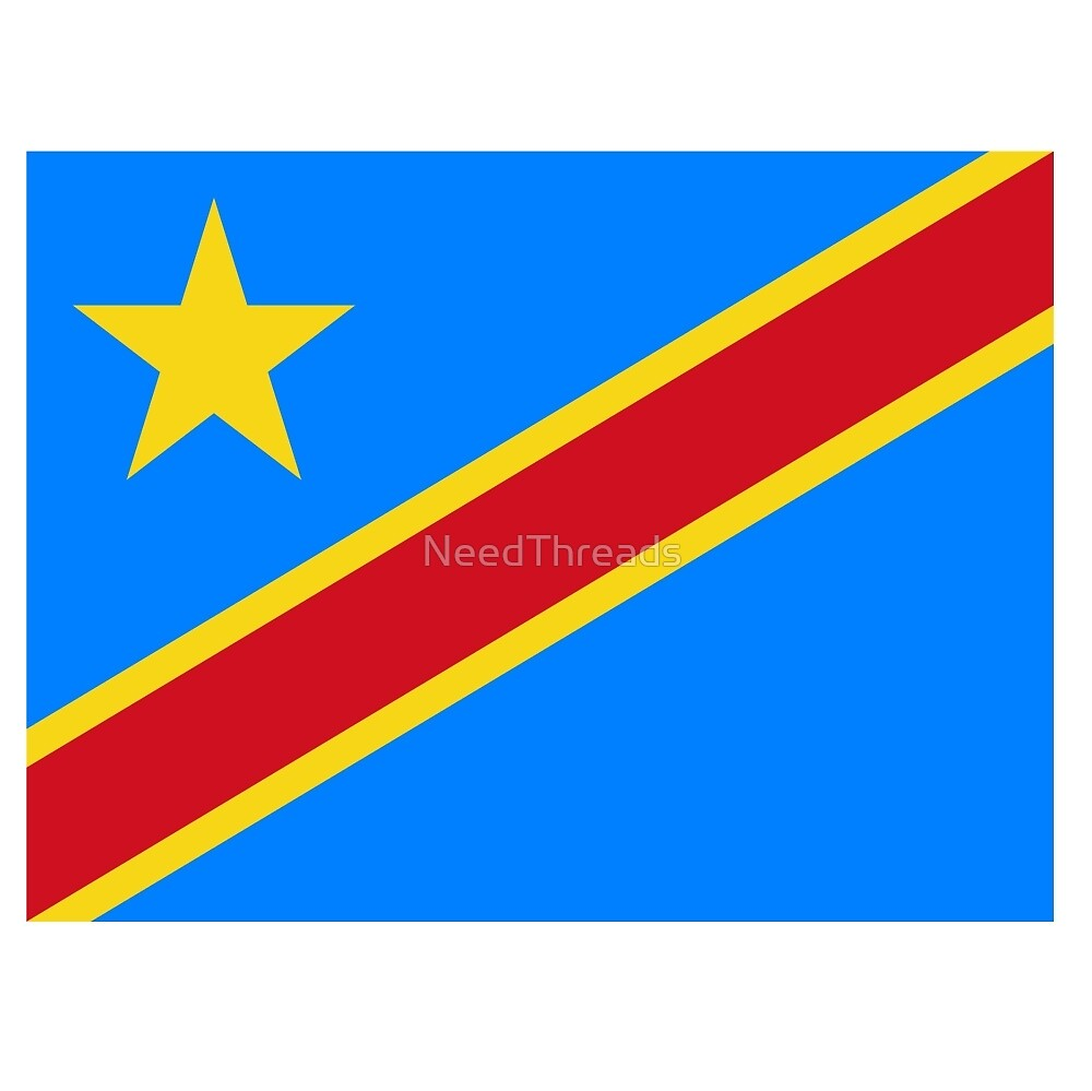 Democratic Republic Of The Congo Flag by NeedThreads