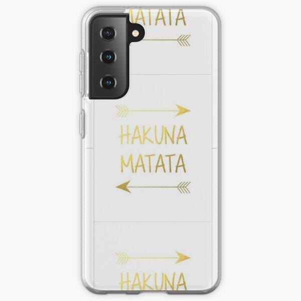 Coques sur le thème Hakuna Matata pour Samsung Galaxy   Redbubble