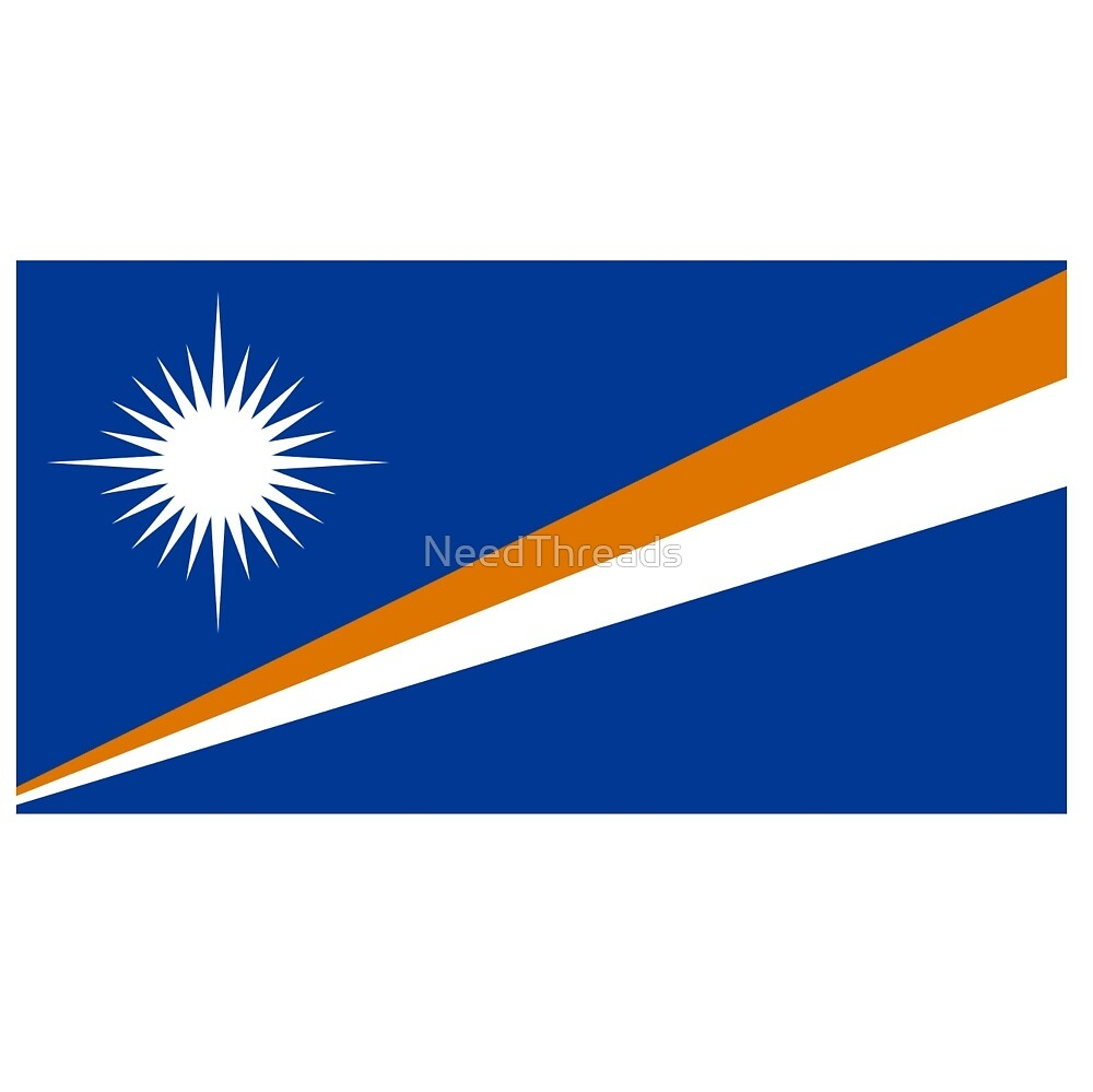 Marshall Islands Flag by NeedThreads